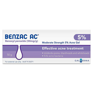 Benzac AC Moderate Strength 5% Acne Gel - Corner Pharmacy