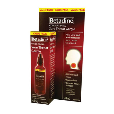 BETADINE Throat Gargle 40ml