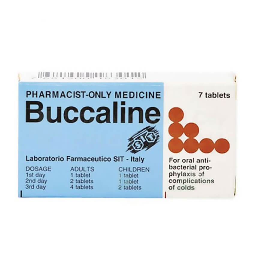 BUCCALINE Tablets 7s (Pharmacist Only) Need consultation before sale