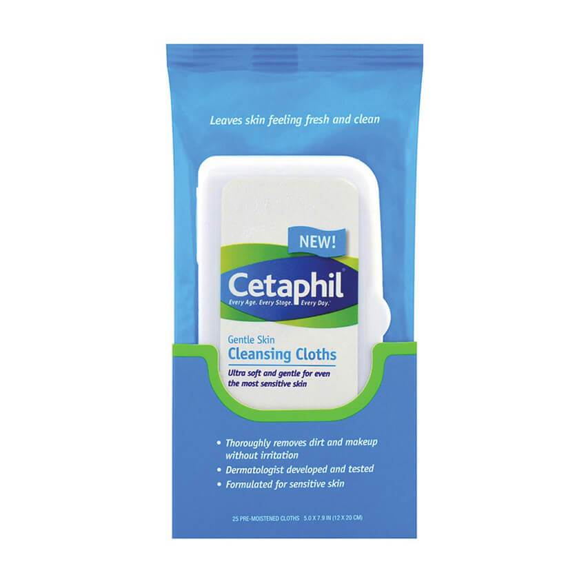 CETAPHIL Cleansing Cloths 25