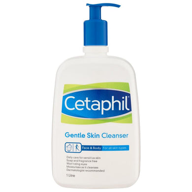 Cetaphil Gentle Skin Cleanser Face & Body 1 Litre - Corner Pharmacy