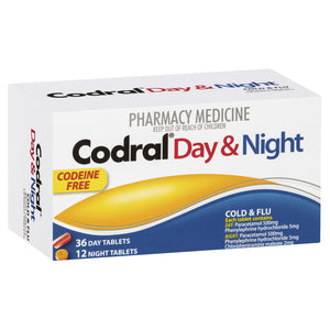 CODRAL PE Day & Night C.F. Tabs 48