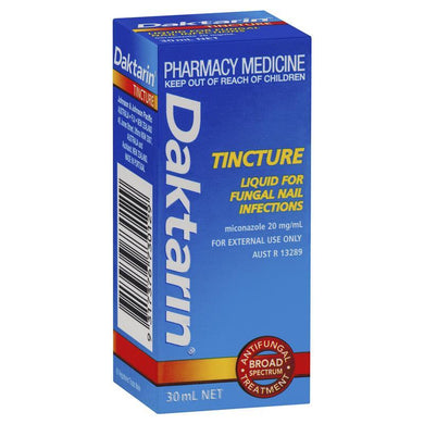 Daktarin Tincture Liquid For Fungal Nail Infections 30ml - Corner Pharmacy