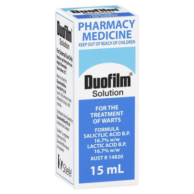 Duofilm Solution For The Treatment Of Warts 15ml - Corner Pharmacy