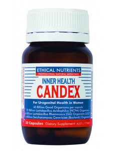 Inner Health Candex 30 Capsules VegeCaps - Corner Pharmacy