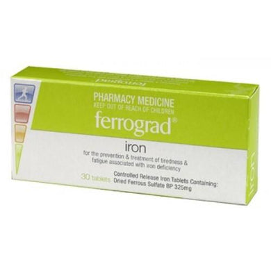 Ferrograd Iron 30 Tablets - Corner Pharmacy