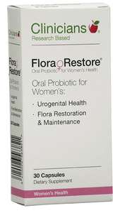 Clinicians Flora Restore 30 caps - Corner Pharmacy