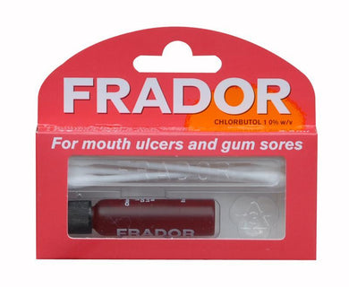 Frador For Mouth Ulcers And Gum Sores 3.5 ml - Corner Pharmacy