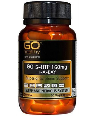 GO 5HTP 160mg One A Day 60 Vegecaps - Corner Pharmacy
