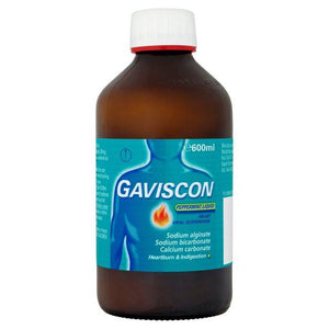Gaviscon Peppermint Liquid 600 ml - Corner Pharmacy