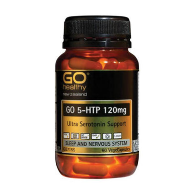 GO 5HTP 120mg 60 Vegicaps - Corner Pharmacy