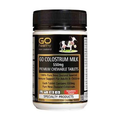 Colostrum Milk 550mg 120 Chewable Tablets - Corner Pharmacy