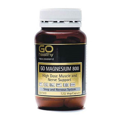 GO Healthy Go Magnesium 800 120 Vegicaps - Corner Pharmacy