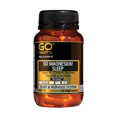 Go Healthy Magnesium Sleep Vegecaps 60s - Corner Pharmacy