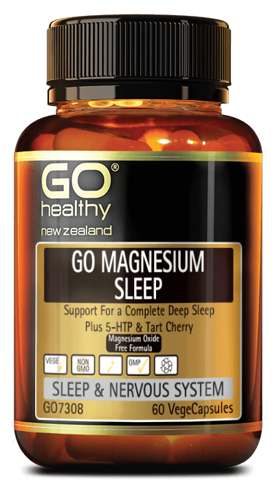 GO Healthy GO Magnesium Sleep 120 Vege Capsules - Corner Pharmacy
