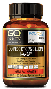 GO Healthy GO Probiotic 75 Billion 1-A-Day 30 Delayed Release Vege Caps - Corner Pharmacy