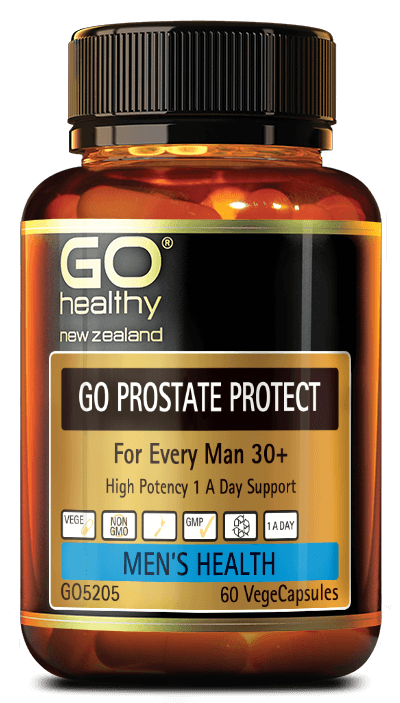 GO Healthy Go Prostate Protect Men's Health 30+ Vege Capsules - Corner Pharmacy