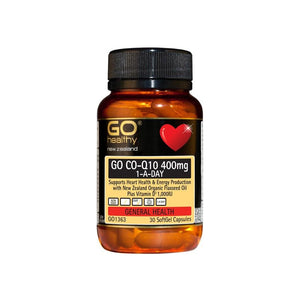 CoQ10 400MG 1-A-Day  30 Soft Gel Capsules - Corner Pharmacy