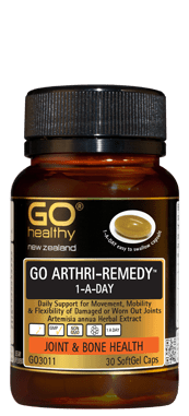 Go Healthy Arthri-Remedy 1-A-Day Joint & Bone Health 30 Soft Gel Caps - Corner Pharmacy