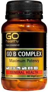 Go B Complex Maximum Potency 60 Vege Capsules - Corner Pharmacy