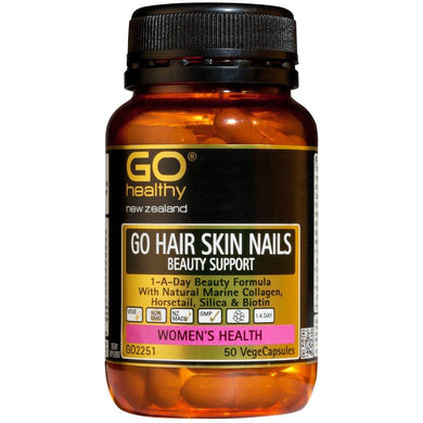 GO Healthy GO Hair Skin Nails Vege Capsules 50s - Corner Pharmacy