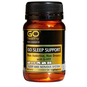 GO Healthy GO Sleep Support 30 Vege Capsules - Corner Pharmacy