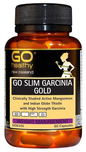 GO Healthy GO Slim Garcinia Gold Weight Management 60 Capsules - Corner Pharmacy