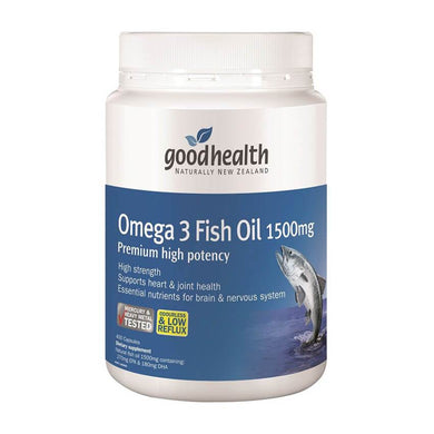 Good Health Omega 3 Fish Oil 1500mg 400s