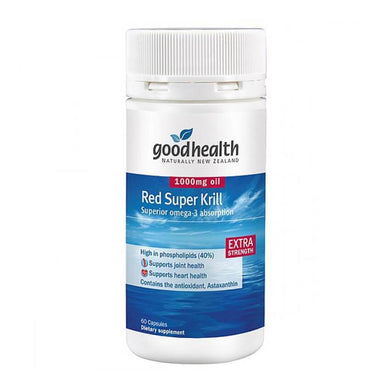 Good Health Red Super Krill 1000mg 60s