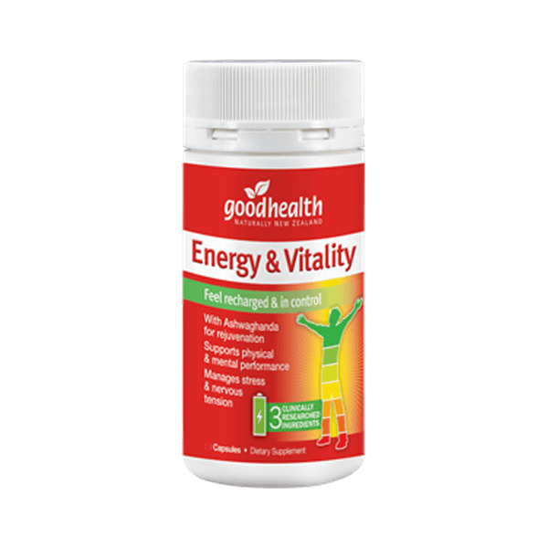 Good Health Energy & Vitality 60 Capsules - Corner Pharmacy