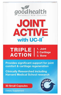 Good Health Joint Active Triple Action 30 Small Capsules - Corner Pharmacy