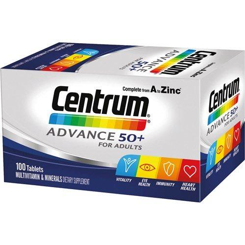 CENTRUM Advance 50+ 100s - Corner Pharmacy