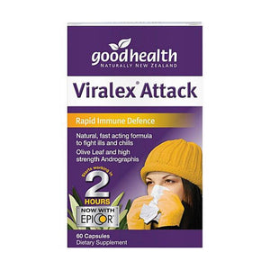 Good Health Viralex Attack 60 Capsules - Corner Pharmacy