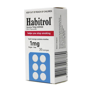 HABITROL Loz Mint 1mg 36