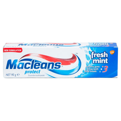 Macleans Protect Fluoride Toothpaste Fresh Mint 90 g - Corner Pharmacy