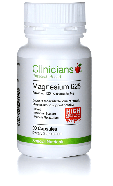 Clinician Magnesium 625 180 caps - Corner Pharmacy