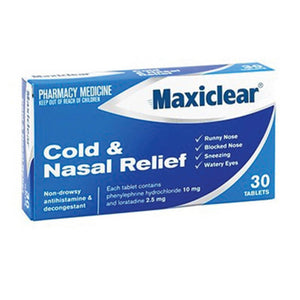 MAXICLEAR Cold & Nasal Rel 30s