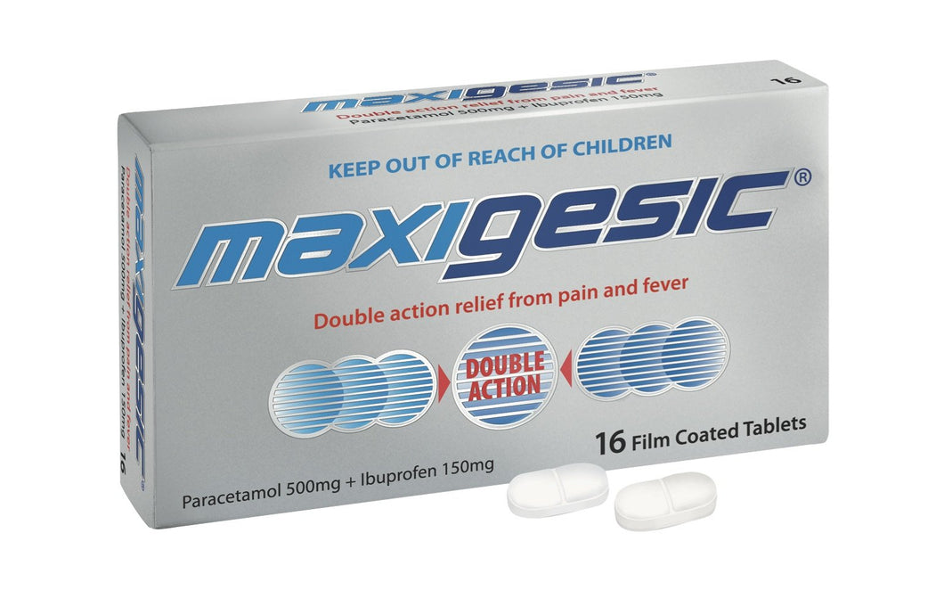 Maxigesic Tablets 16s - Corner Pharmacy