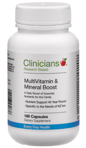 Clinicians Multi Vitamin $ Mineral Boost 90 caps - Corner Pharmacy