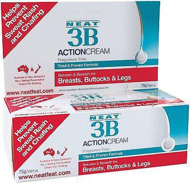 Neat 3B Action Cream Fragrance Free 75g - Corner Pharmacy