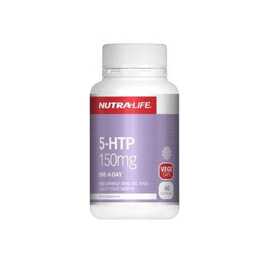 Nutralife  5-HTP 150mg 60 Caps - Corner Pharmacy