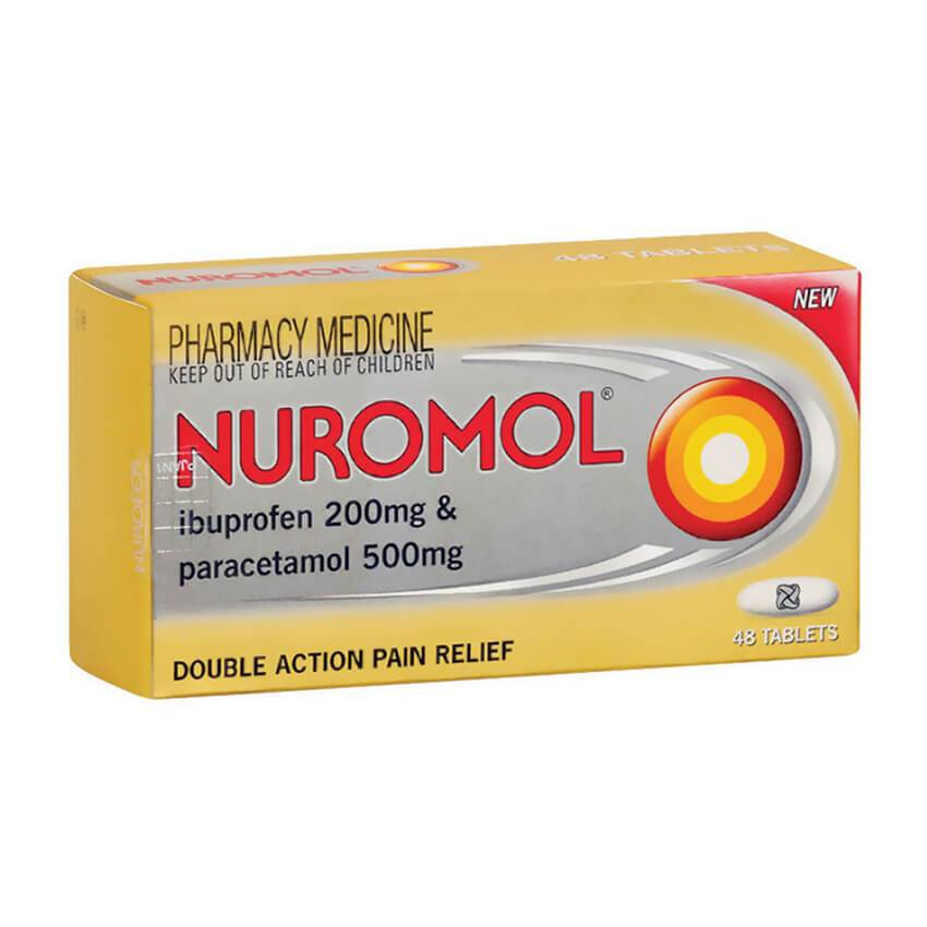 Nuromol Tablets 48s - Corner Pharmacy