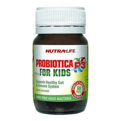 Nutra-Life Probiotica P3 For Kids Vanilla Flavoured Chewable 60 Tablets - Corner Pharmacy