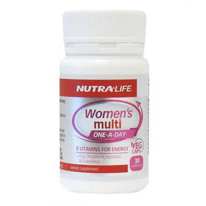 Nutra-Life Women's Multi One-A-Day 30 Capsules - Corner Pharmacy