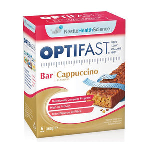 Optifast Cappucino Bars 60g x 6