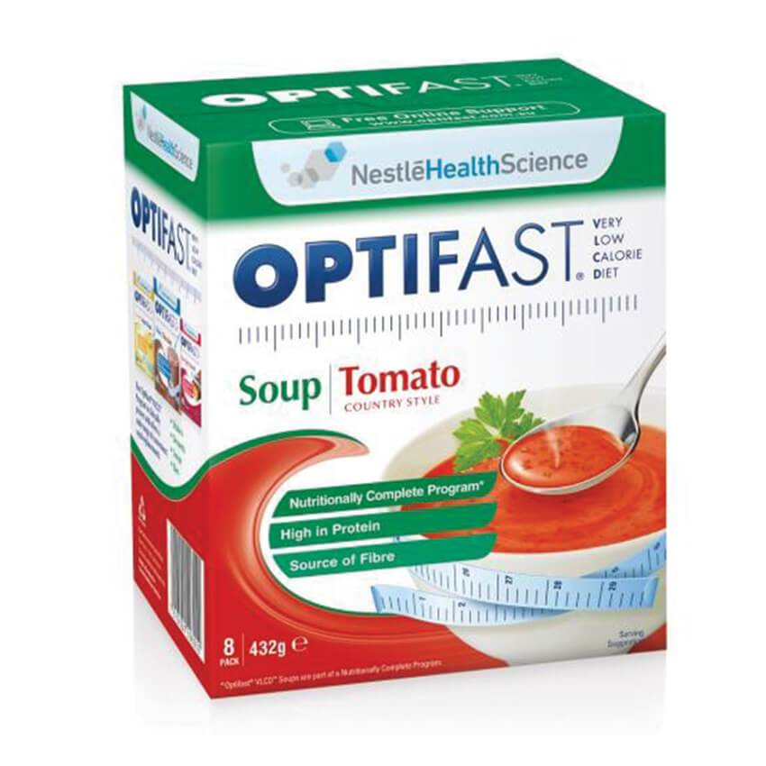 Optifast Soup Tomato (Very Low Calorie Diet) 48x8g
