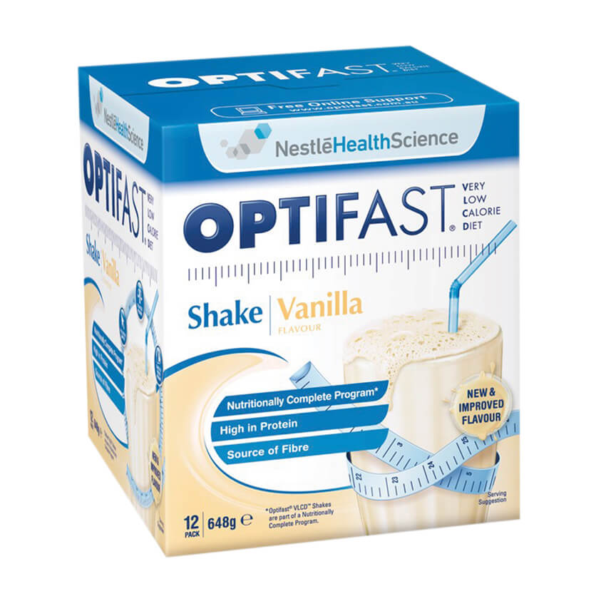 Optifast Very Low Calorie Diet (VLCD) Vanilla