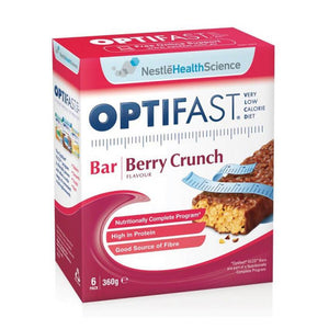 Optifast VLCD Bars Berry Crunch 60g x 6