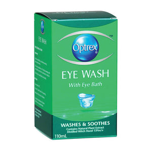 OPTREX Eye Wash with Bath 110ml