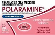 Polaramine Tablets 2mg 20s (Pharmacist Only) - Corner Pharmacy
